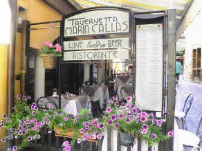 Esterno della Tavernetta Maria Callas