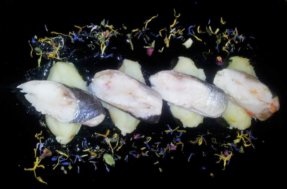 Piatto di pesce alla Tavernetta Maria Callas